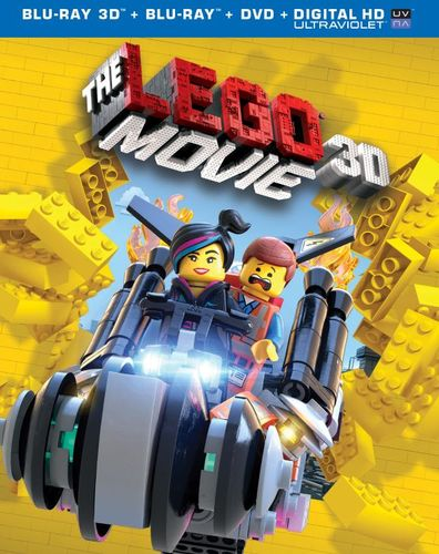 The LEGO Movie [Includes Digital Copy] [UltraViolet] [3D] [Blu-ray/DVD] [3 Discs] [Blu-ray/Blu-ray 3D/DVD] [2014] 4624521