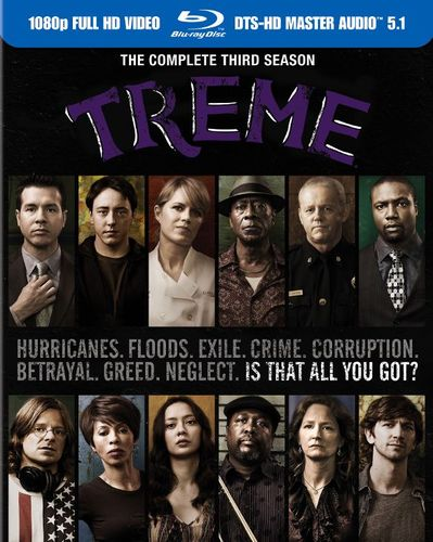 Treme: The Complete Third Season [4 Discs] [Blu-ray] 4624526