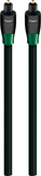 AudioQuest OPTFOR03 OptiLink Forest 9.8' In-Wall Optical Cable Black/Green