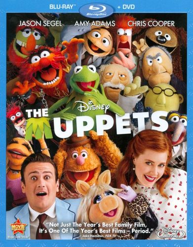 The Muppets [2 Discs] [Blu-ray/DVD] [2011] 4635935