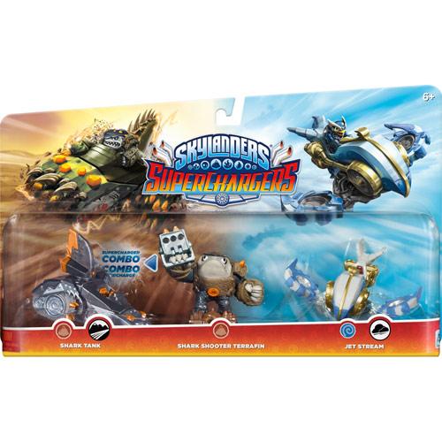Activision - Skylanders SuperChargers Triple Pack (Shark Tank/Shark Shooter Terrafin/Jet Stream) 4636500