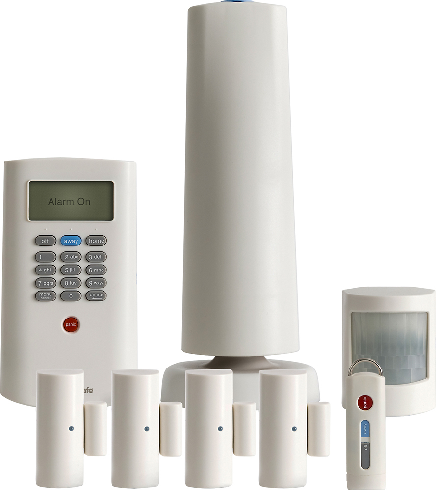 SimpliSafe Protect Home Security System White BBY-PRT08-00