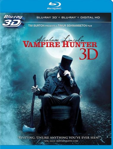 Image of Abraham Lincoln: Vampire Hunter [3D] [Blu-ray] [Blu-ray/Blu-ray 3D] [2012]