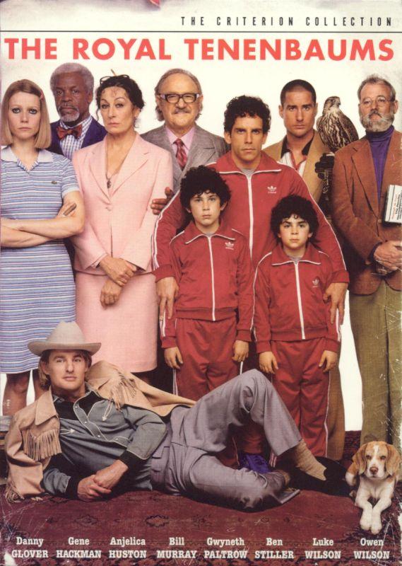 The Royal Tenenbaums [Criterion Collection] [2 Discs] [DVD] [2001] 4648643