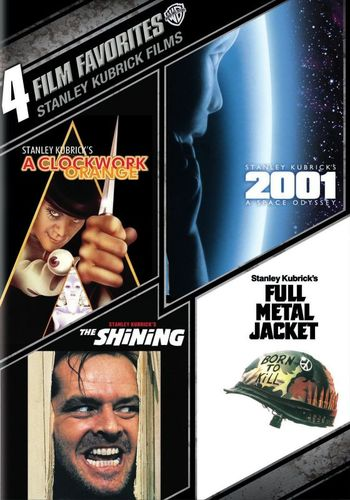 4 Film Favorites: Stanley Kubrick Films [4 Discs] [DVD] 4650304