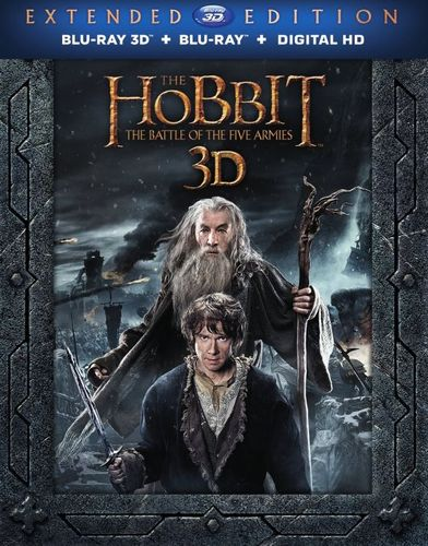 The Hobbit: The Battle of the Five Armies [Extended Edition] [3D] [Blu-ray/DVD] [Blu-ray/Blu-ray 3D/DVD] [2014] 4656627