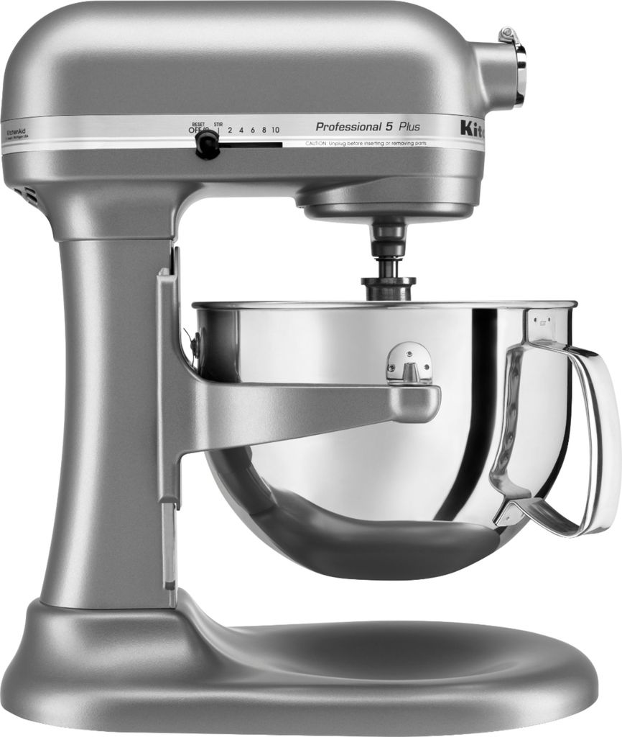 KitchenAid - Professional 5 Plus Series Bowl-Lift Stand Mixer - Silver
