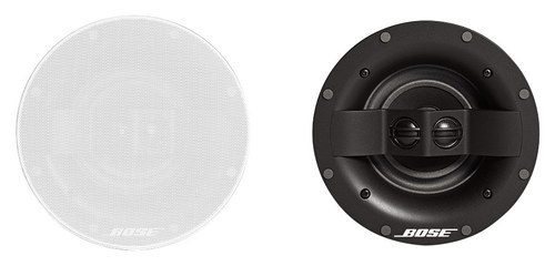 Bose® - Virtually Invisible® 591 In-Ceiling Speakers (Pair) - White