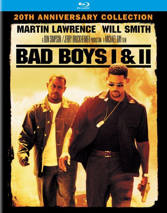 Bad Boys/Bad Boys II [Includes Digital Copy] [UltraViolet] [Blu-ray] [2 Discs] 4669900