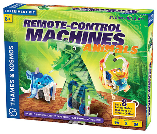 Thames & Kosmos - Remote-Control Machines Animals Kit 4670806