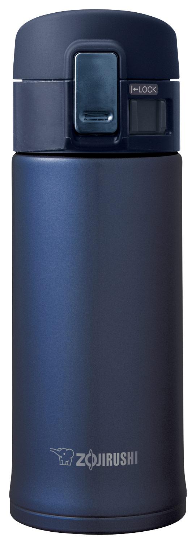 Zojirushi 12oz Stainless Steel Vacuum Insulated Mug with SlickSteel® Interior - Smoky Blue