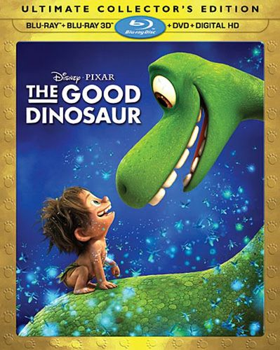 The Good Dinosaur [Includes Digital Copy] [3D] [Blu-ray/DVD] [Blu-ray/Blu-ray 3D/DVD] [2015] 4677302