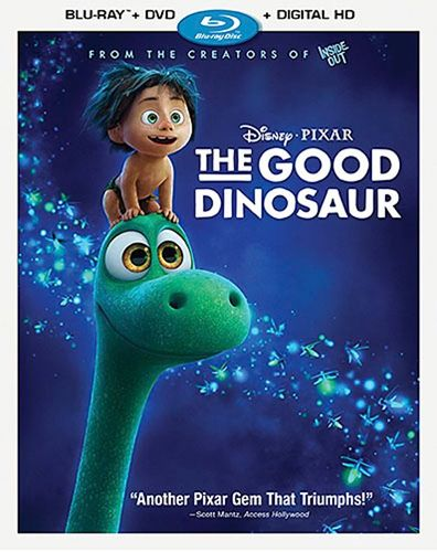The Good Dinosaur [Includes Digital Copy] [Blu-ray/DVD] [2015] 4677305