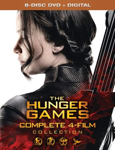 The Hunger Games Collection [Includes Digital Copy] [DVD] 4682806