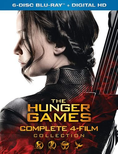 The Hunger Games Collection [Includes Digital Copy] [Blu-ray] 4682809