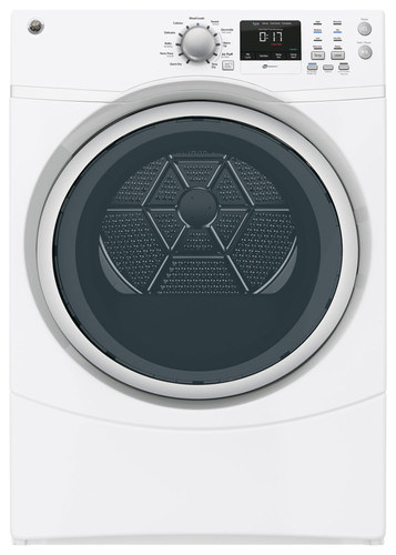 GE - 7.5 Cu. Ft. 4-Cycle High-Efficiency Electric Dryer - White 4684409