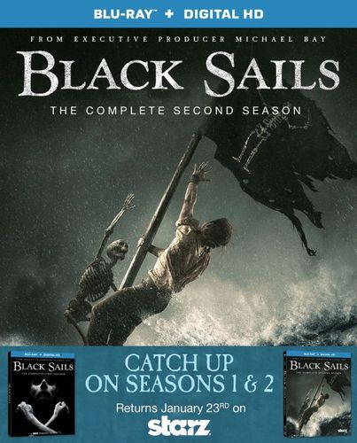 Black Sails: Season 1 and 2 [Blu-ray] [3 Discs] 4692003