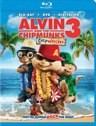 Alvin and the Chipmunks: Chipwrecked [Blu-ray/DVD] [2 Discs] [2011] 4692008