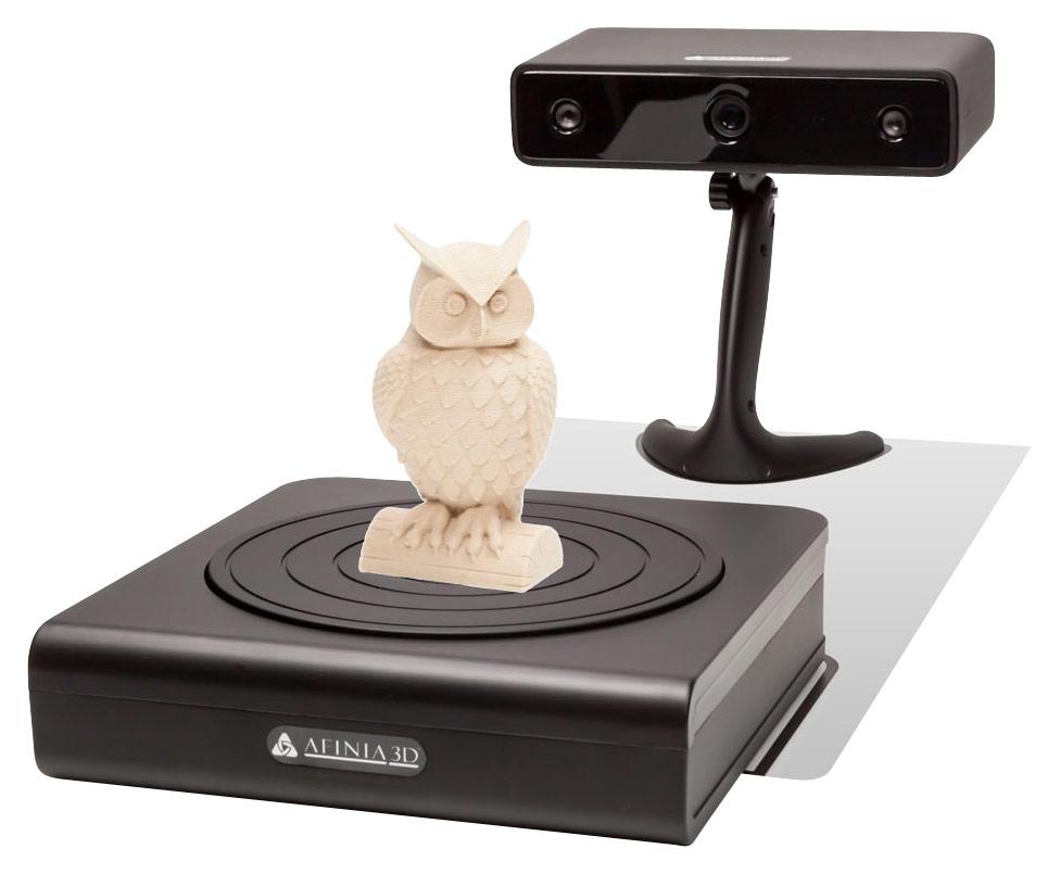 Afinia 3D Scanner Black ES360
