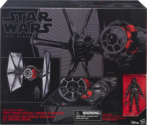 Hasbro - Star Wars: The Black Series First Order Special Forces TIE Fighter 4700000