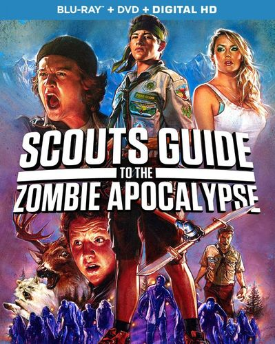 Scouts Guide to the Zombie Apocalypse [Blu-ray/DVD] [2015] 4704801