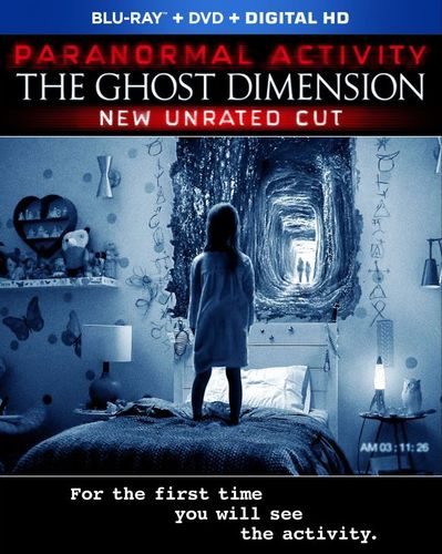 Paranormal Activity: The Ghost Dimension [Blu-ray/DVD] [2015] 4704805