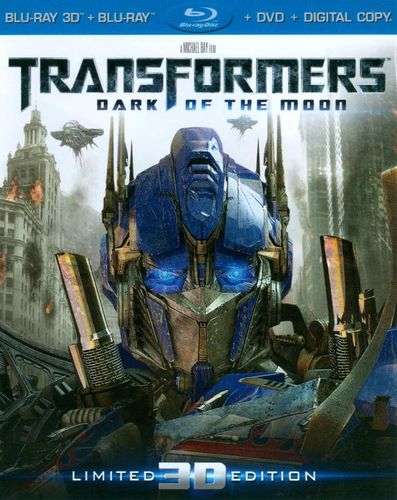 Transformers: Dark of the Moon [Ultimate Edition] [UltraViolet] [3D] [Blu-ray/DVD] [Blu-ray/Blu-ray 3D/DVD] [2011] 4706932