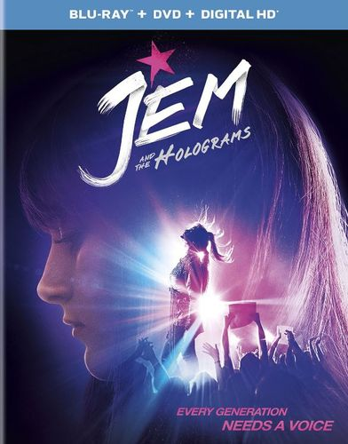 Jem and the Holograms [Includes Digital Copy] [UltraViolet] [Blu-ray/DVD] [2 Discs] [2015] 4715107