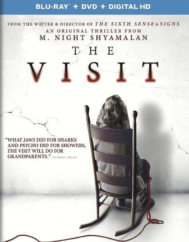 The Visit [Includes Digital Copy] [UltraViolet] [Blu-ray/DVD] [2 Discs] [2015] 4715119
