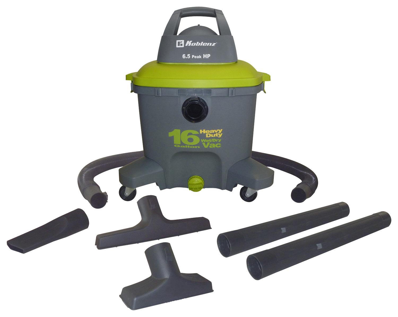 Koblenz Wet/Dry Vacuum Green/Gray WD16