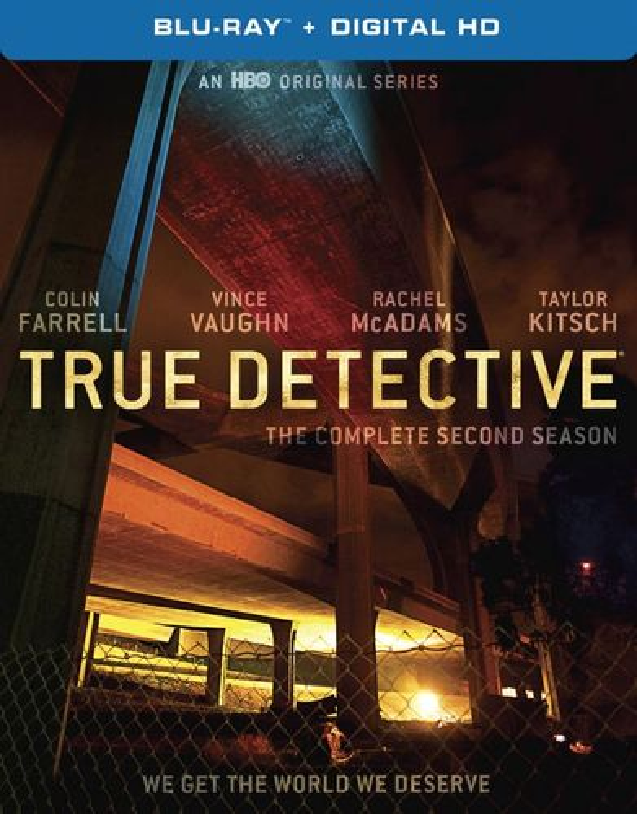 True Detective: The Complete Second Season [Blu-ray] 4723113