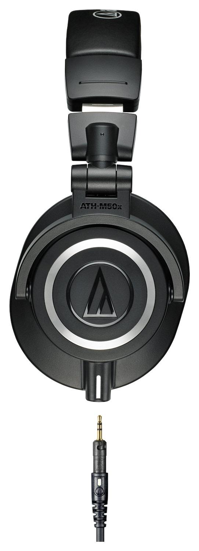 7641743370d Audio-Technica - ATH-M50x Monitor Headphones - Black