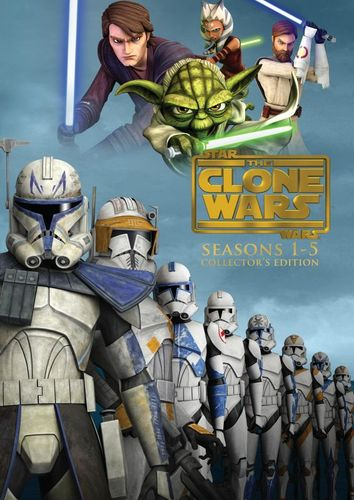 Star Wars: The Clone Wars - The Complete Seasons 1-5 [Collector's Edition] [19 Discs] [DVD] 4725810