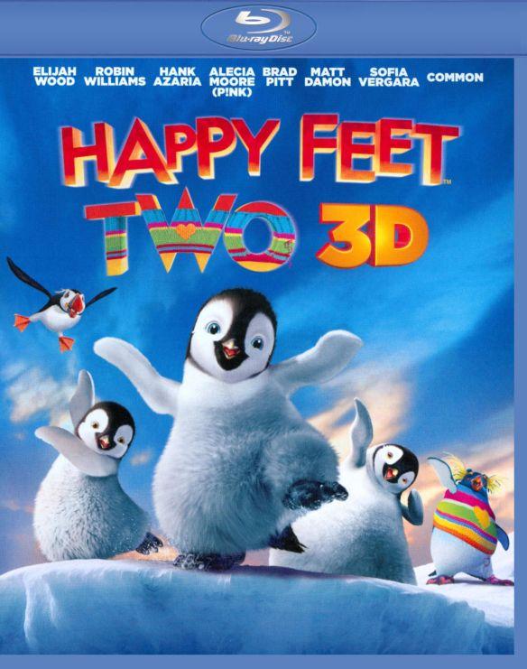 Happy Feet Two 3D [3 Discs] [Includes Digital Copy] [UltraViolet] [3D] [Blu-ray/DVD] [Blu-ray/Blu-ray 3D/DVD] [2011]