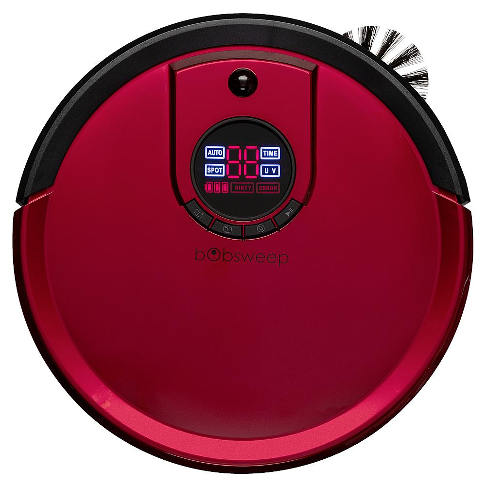 bObsweep Robotic Vacuum Rouge B3727536RO