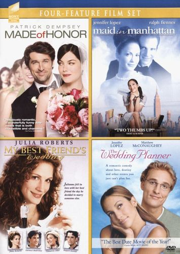 Made of Honor/Maid in Manhattan/My Best Friend's Wedding/The Wedding Planner [DVD] 4732664