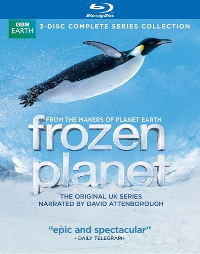 Frozen Planet: The Complete Series [3 Discs] [Blu-ray] 4734708