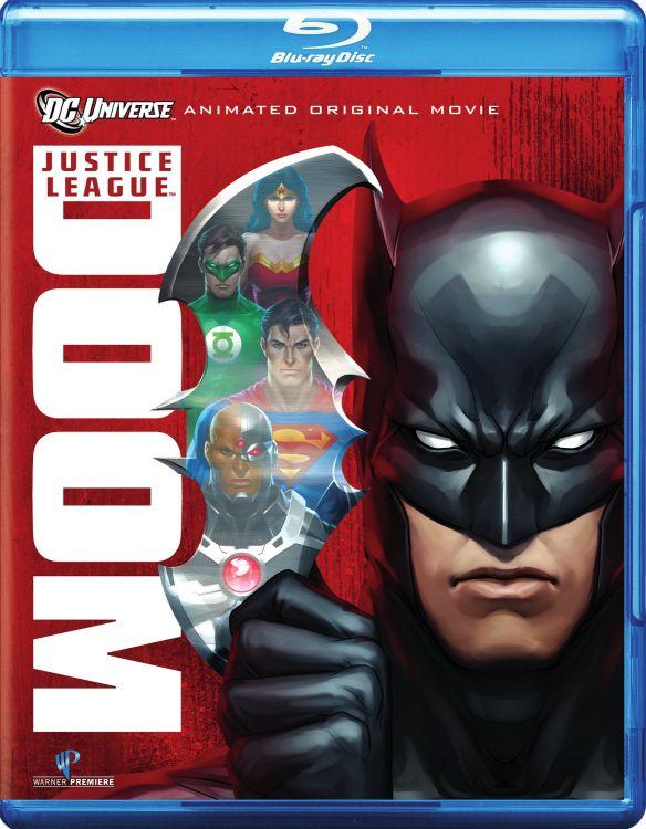 Justice League: Doom [2 Discs] [Blu-ray/DVD] [2012] 4734753