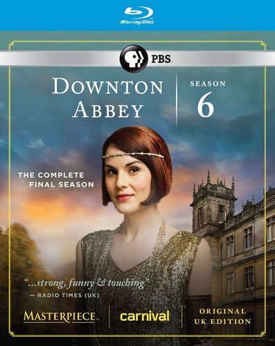 Downton Abbey: Season 6 [Blu-ray] 4735605