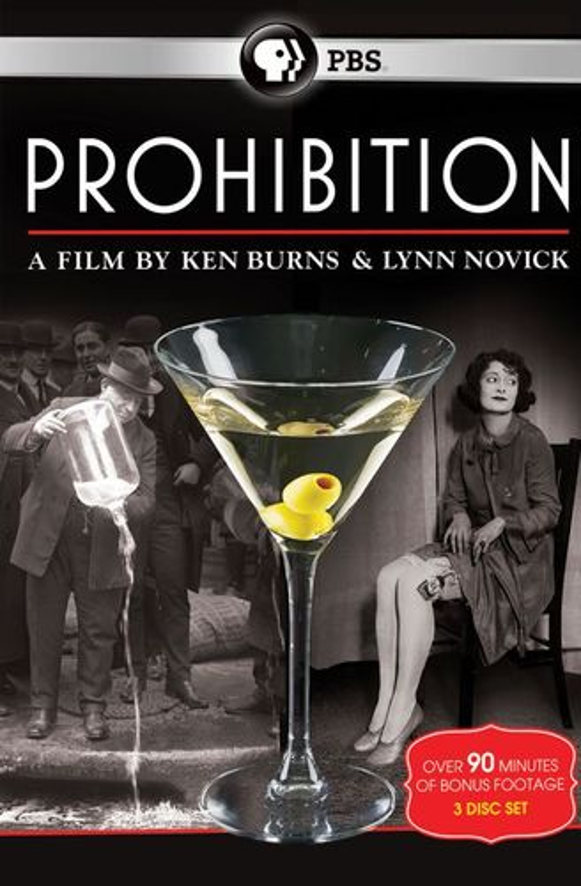 Prohibition: A Film by Ken Burns & Lynn Novick [3 Discs] [DVD] 4737839