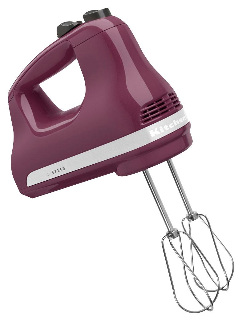 KitchenAid - KHM512BY Ultra Power 5-Speed Hand Mixer - Boysenberry