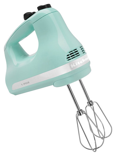 KitchenAid Ultra Power 5-Speed Hand Mixer Ice Blue KHM512IC