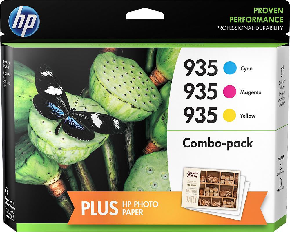 HP n9h65fn#140 935 3-Pack Ink Cartridges Cyan/Magenta/Yellow