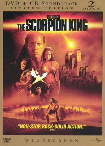 The Scorpion King [WS] [Limited Edition] [DVD/CD] [DVD] [2002] 4747171