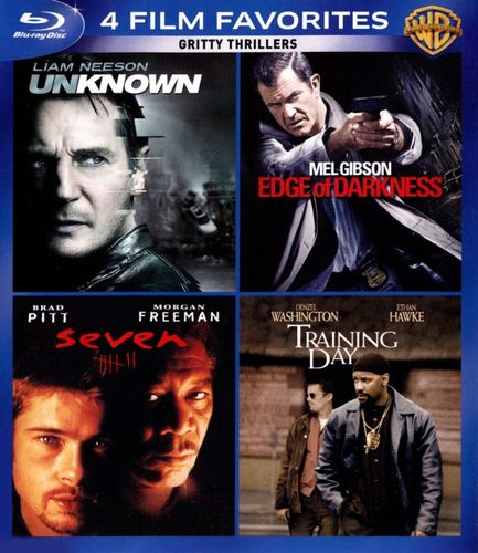 Gritty Thrillers: 4 Film Favorites [4 Discs] [Blu-ray] 4750500
