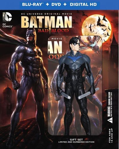 Batman: Bad Blood [Deluxe Edition] [Includes Digital Copy] [UltraViolet] [Blu-ray/DVD] [2 Discs] [2016] 4750503