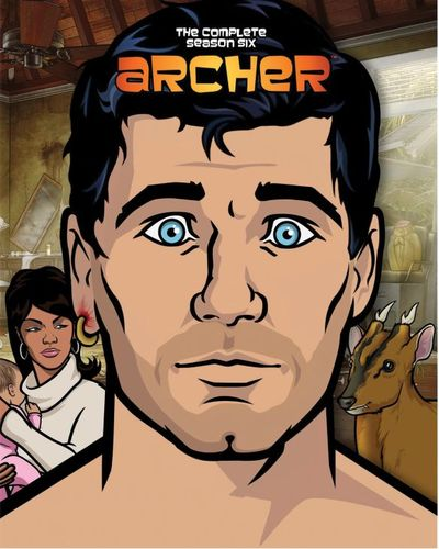 Archer: Season 6 [Blu-ray] [2 Discs] 4754401