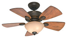 "Hunter 52090 Watson 34"" Ceiling Fan New Bronze"