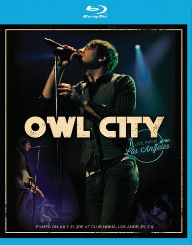 Owl City: Live from Los Angeles [Blu-Ray] [Blu-Ray Disc] 4756575