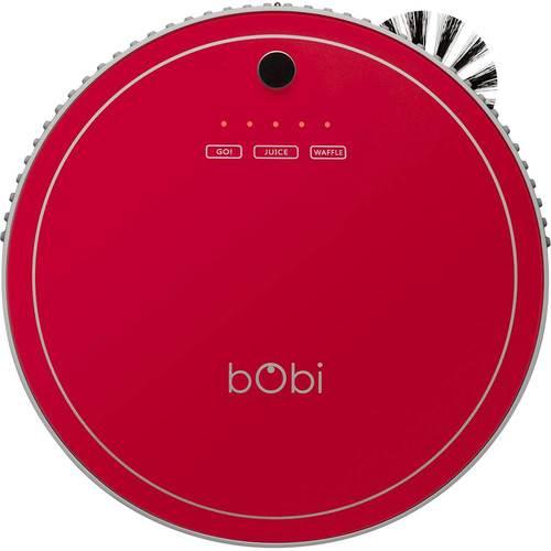 bObsweep - bObi Pet Robot Vacuum - Scarlet